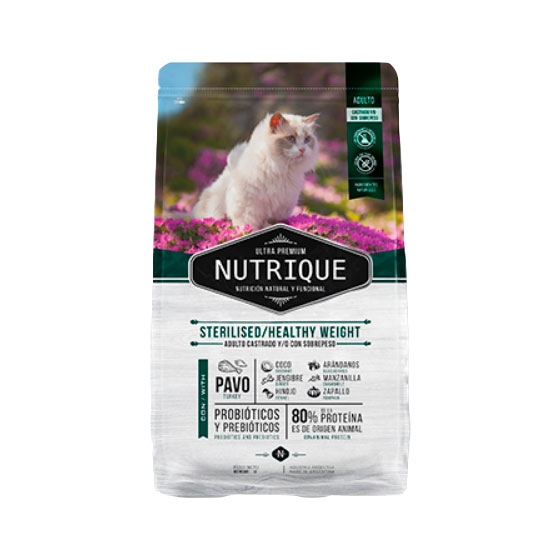 NUTRIQUE GATO STERIL WEIGHT