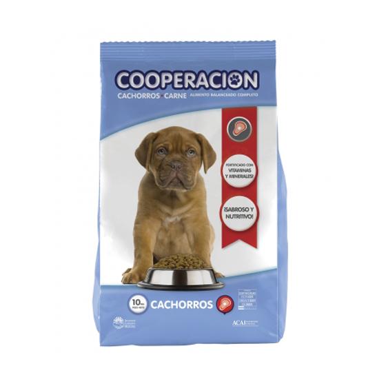 COOPERACION CACHORRO x 10 KG