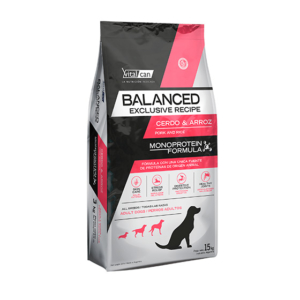 VITAL CAN BALANCED CERDO Y ARROZ x 15 KG
