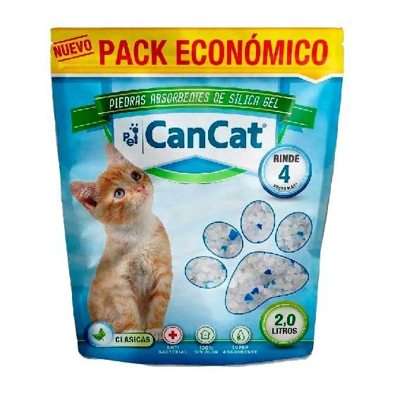 PIEDRA SILICA CAN CAT CLASICA x 2 LTS